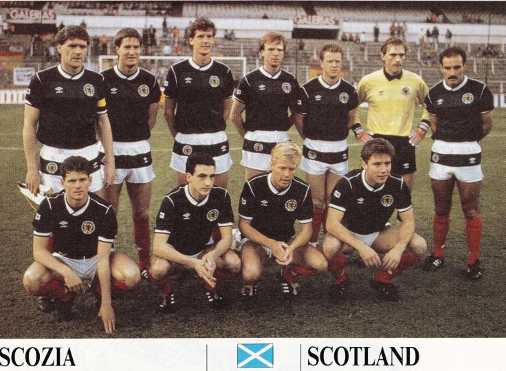 Scotland 1988.04.27.Madrid,Spain.IFM-Spain v Scotland 0-0 No1