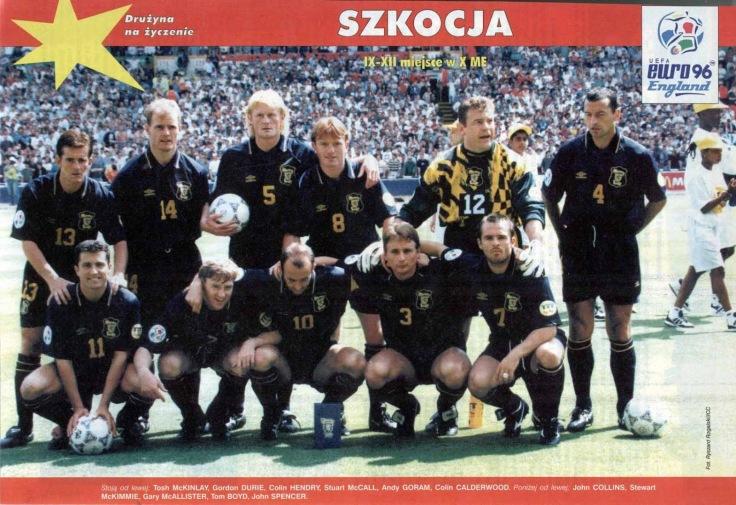 Scotland 1996 EC 2