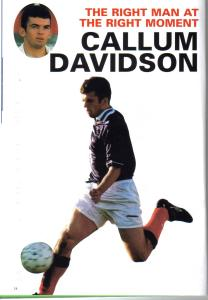 CALLUM DAVIDSON BOSNIA 1999