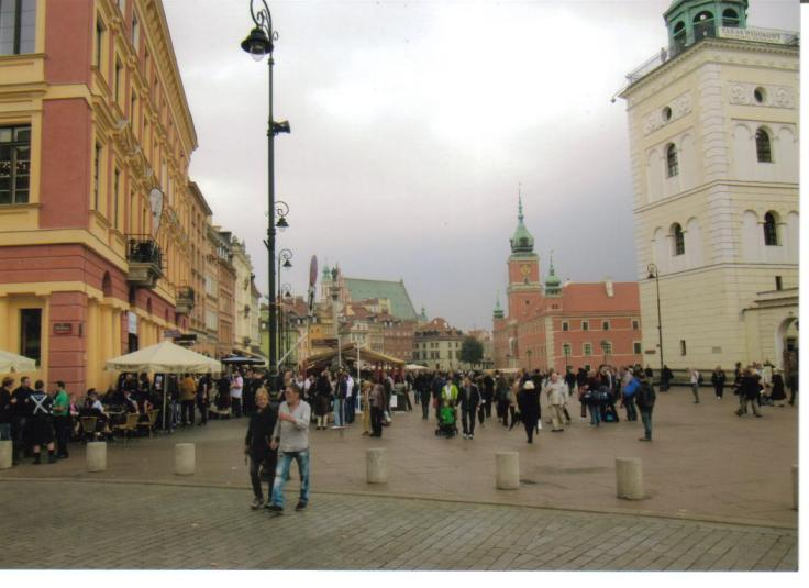 CROWD 2014 WARSAW NEARLY NEW OLD TOWN